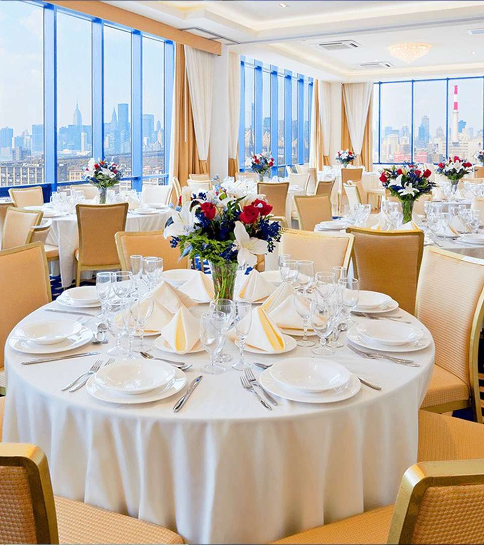Penthouse Ballroom event space at Vista Sky Lounge & Penthouse Ballroom in New York City, NYC, NY/NJ Area