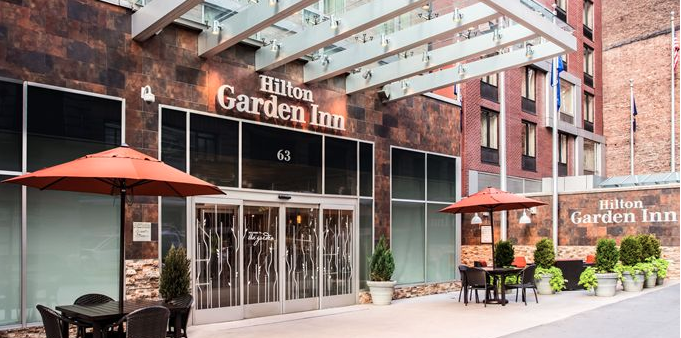 Photo #4 The Garden Grill  at Hilton Garden Inn New York/ West 35th Street