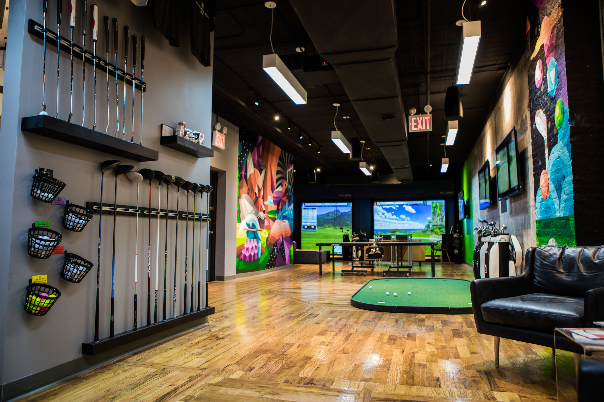 Five Iron Golf event space in New York City, NYC, NY/NJ Area