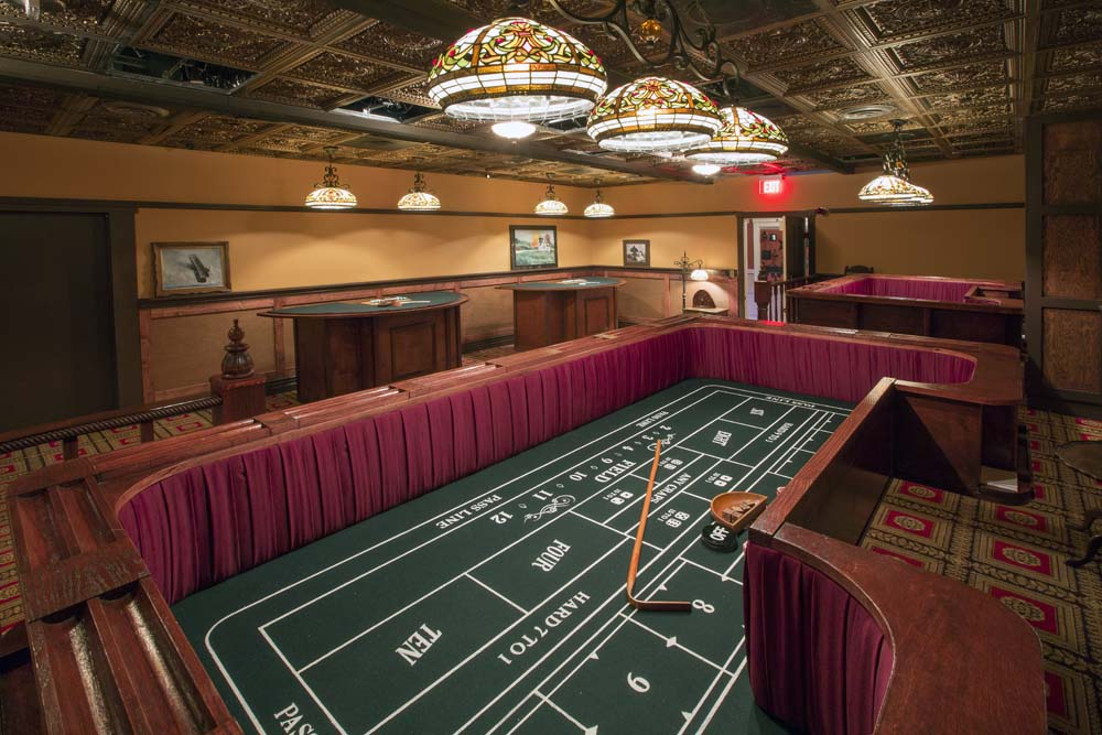 Casino event space at The Speakeasy in San Francisco, SF Bay Area, San Fran