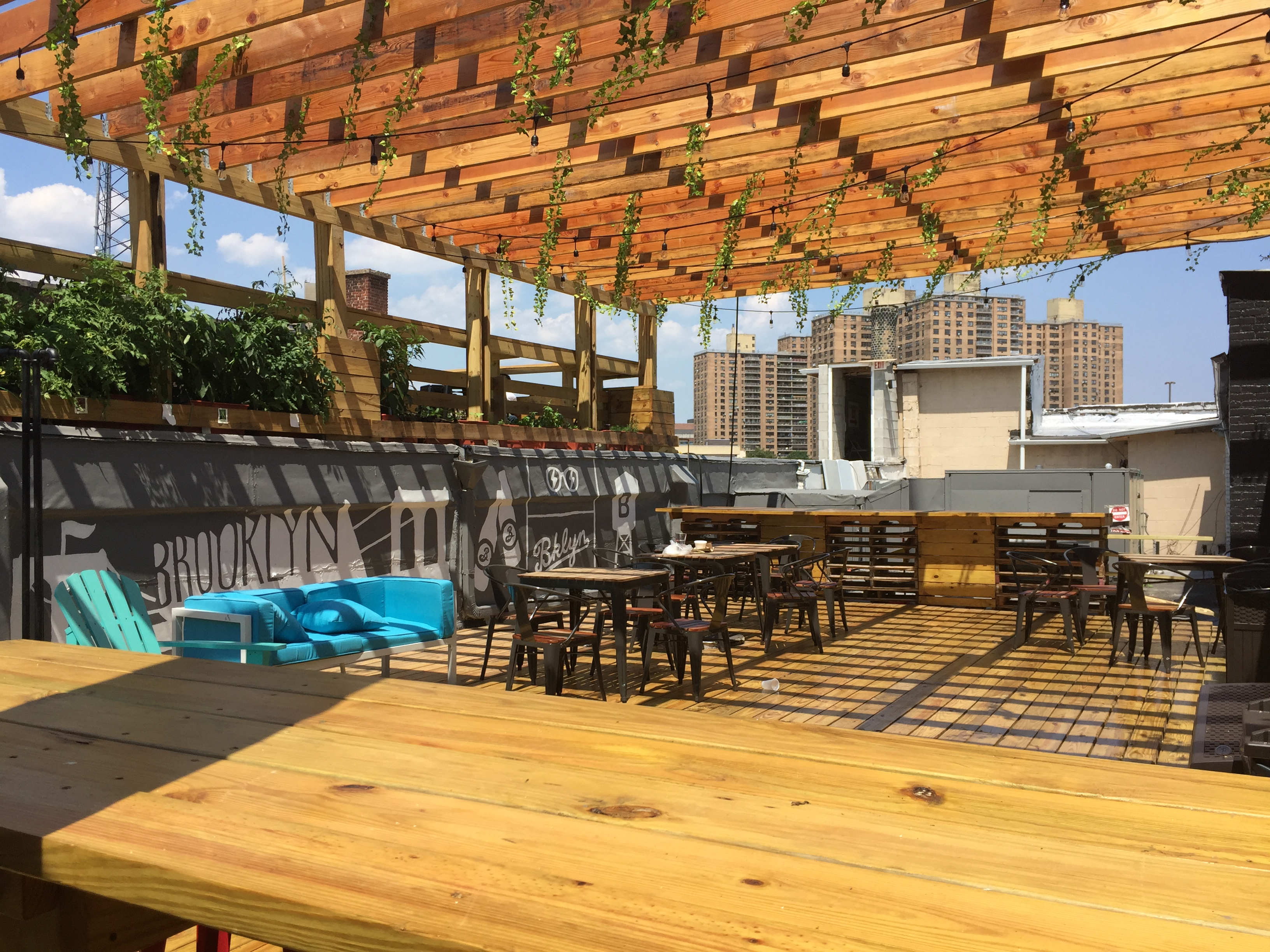 Rooftop Patio With Mezzanine event space at BKLYN COMMONS in New York City, NYC, NY/NJ Area