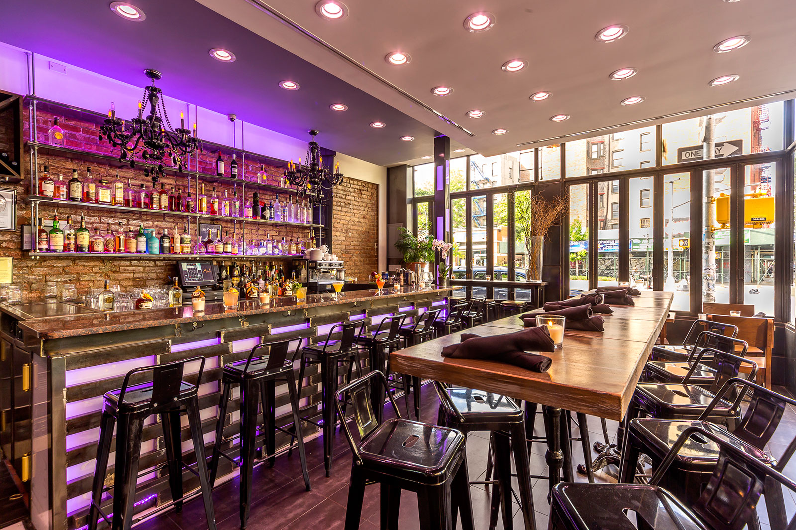 Main Space event space at Ariel's Latin Bistro in New York City, NYC, NY/NJ Area