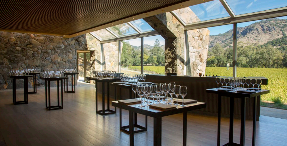 Stag's Leap Wine Cellars event space in San Francisco, SF Bay Area, San Fran