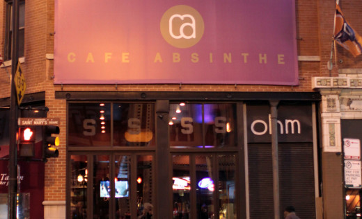 Full Venue event space at Cafe Absinthe in Chicago, Chicagoland Area