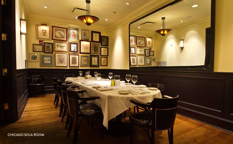Photo #3 Sola Room at The Grill on the Alley Chicago