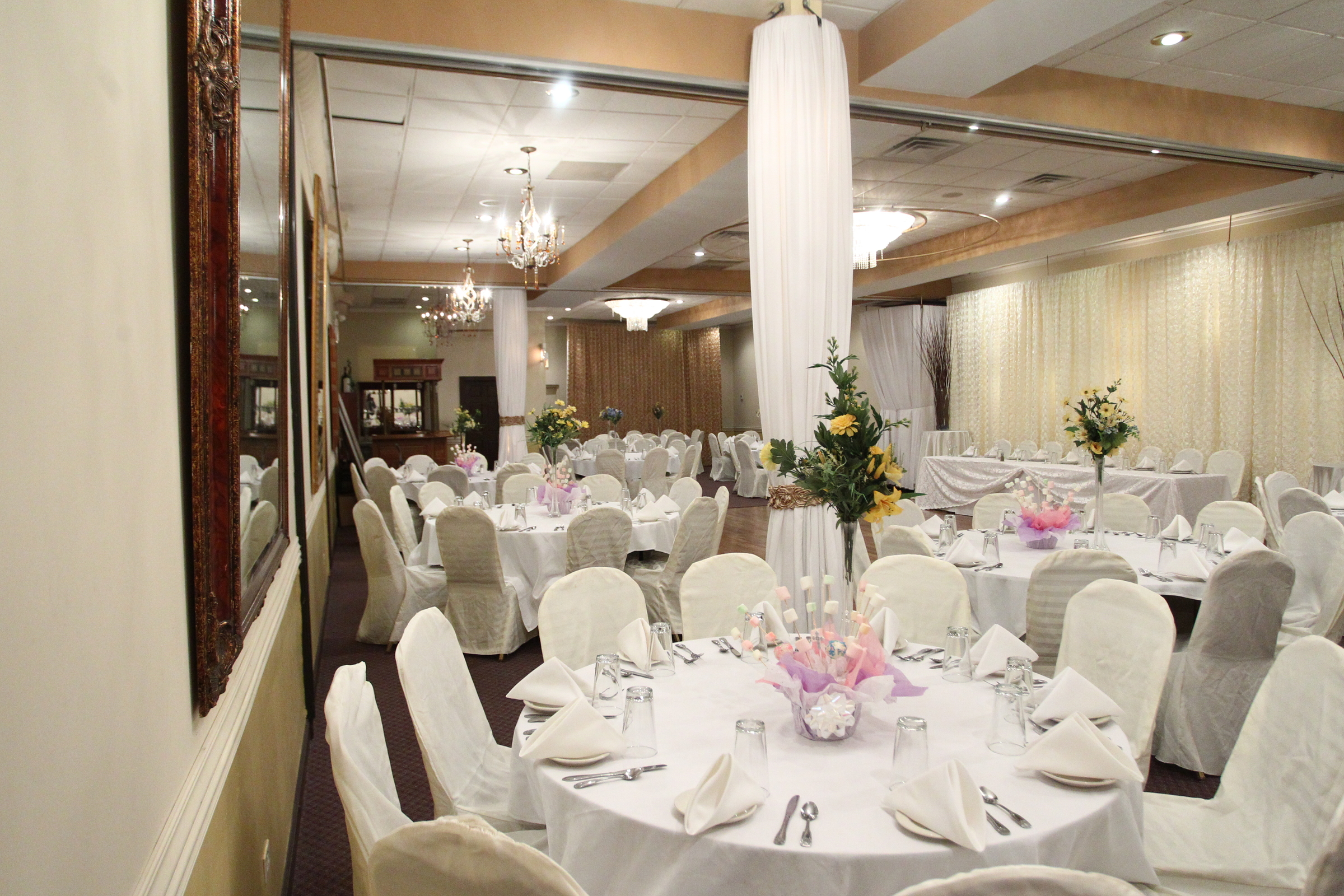 Full Venue event space at Via Veneto Ristorante in Chicago, Chicagoland Area