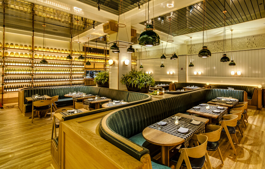 Photo #3 Dining Room  at Upland NYC