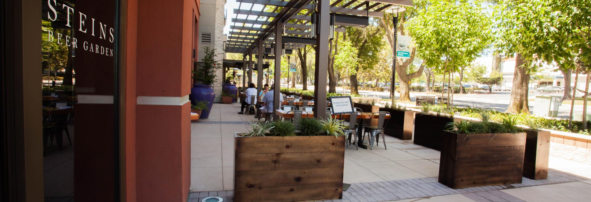 Photo #3 Private Beer Garden at Steins Beer Garden and Restaurant