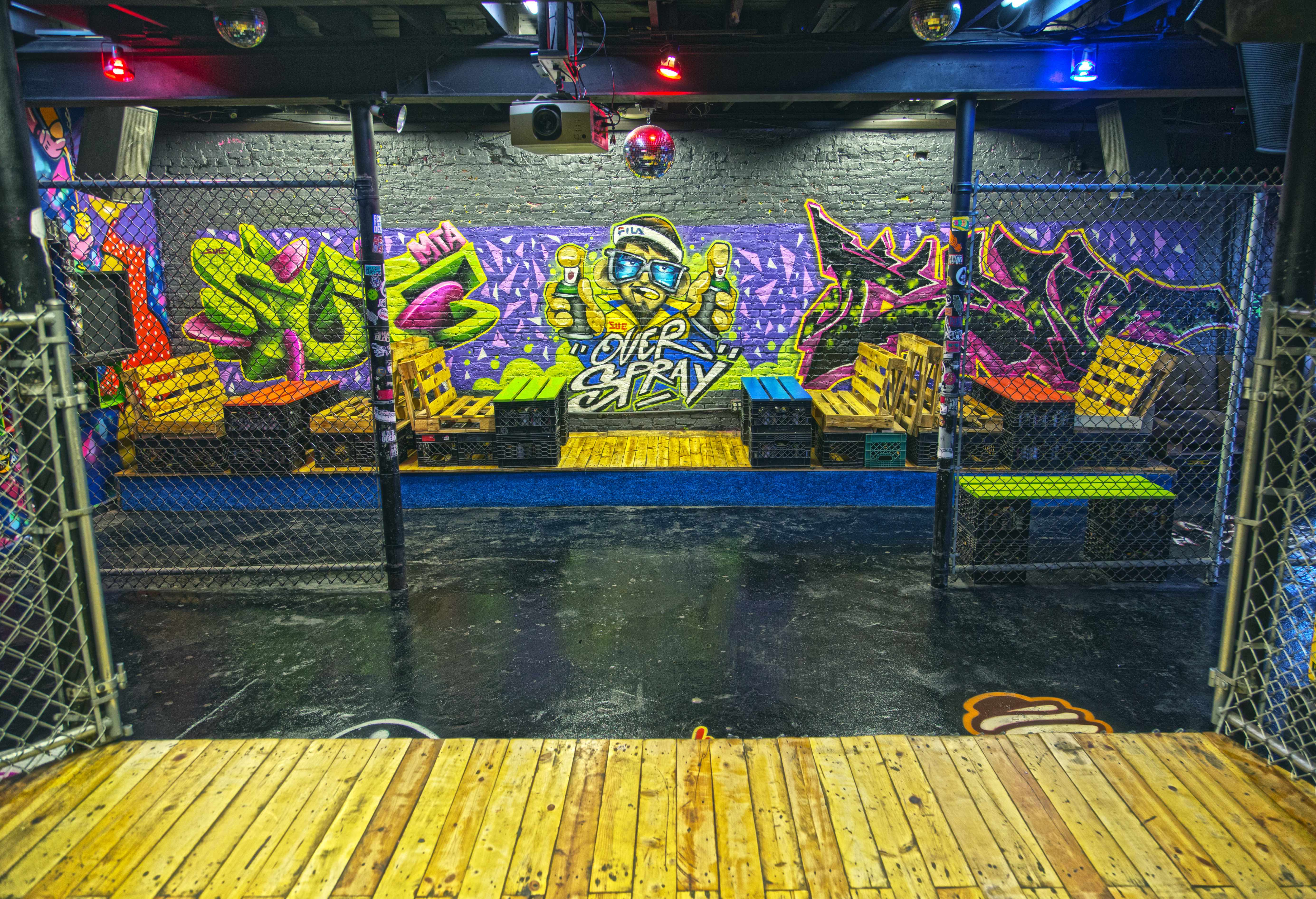 Overspray event space at Nyc Arts Cypher in Greater New York