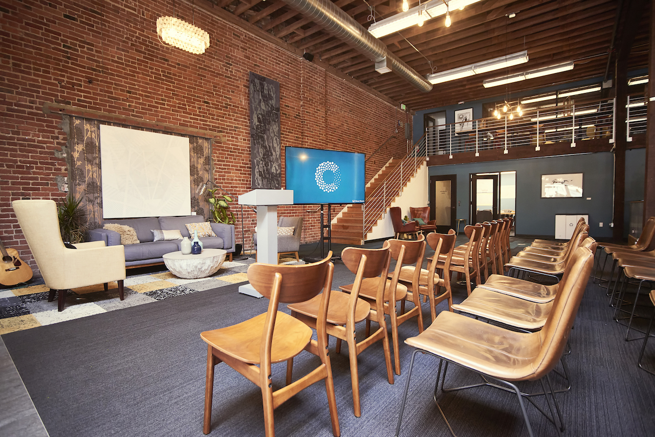 Main Space event space at Covo in San Francisco, SF Bay Area, San Fran