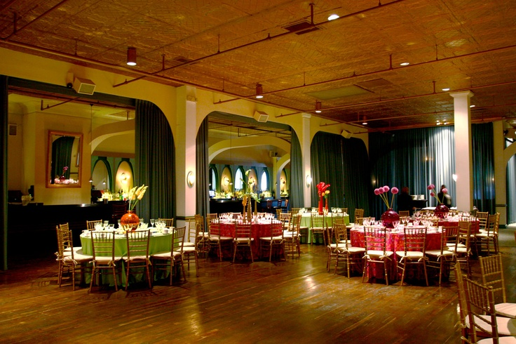 Main Space event space at Clarendon Ballroom in Washington DC, Maryland, Virginia, DC Area