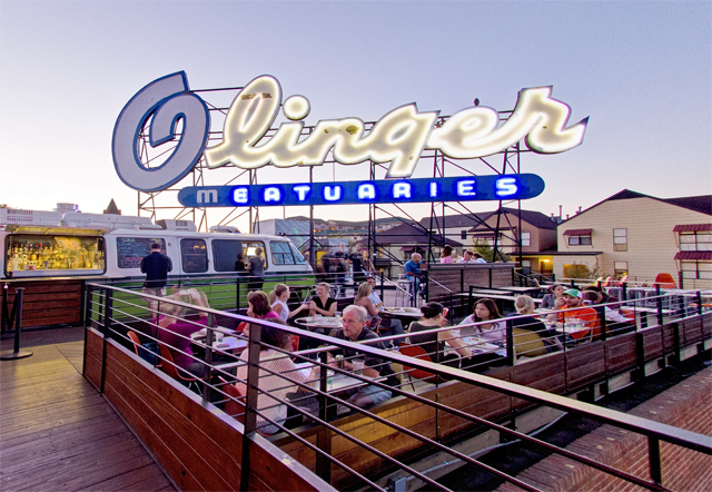 Photo #3 Rooftop Patio at Linger