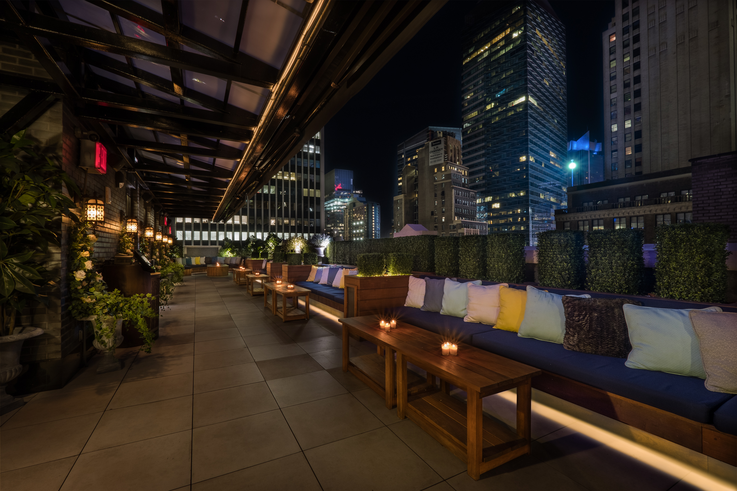 Time Square Terrace  event space at Elsie Rooftop in New York City, NYC, NY/NJ Area