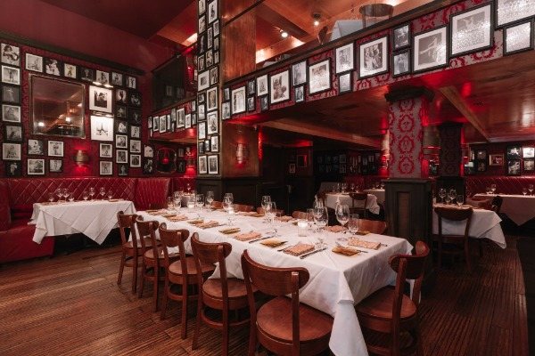 Main Dining event space at Strip House Speakeasy in New York City, NYC, NY/NJ Area