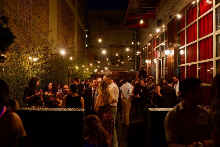 Photo #12 The Garden Terrace (Outdoor Space with Sound & Bar) at Hudson Terrace