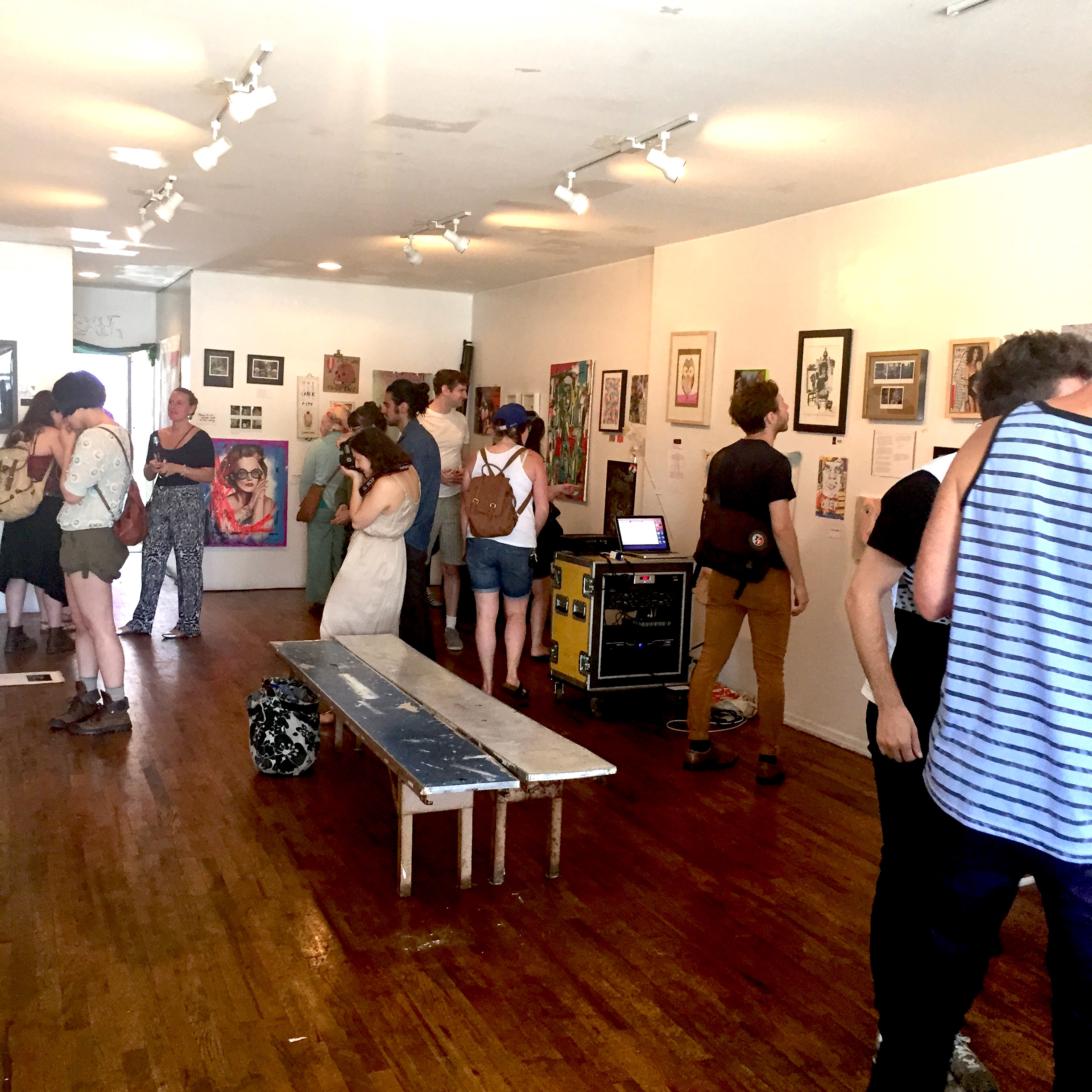 Photo #2 Main Space at The Living Gallery
