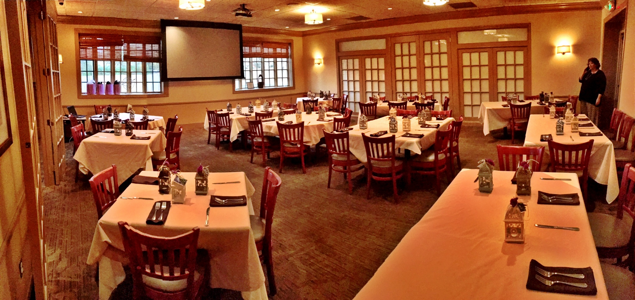 Photo #2 Large Private Dining Room  at Fazzini's Taverna