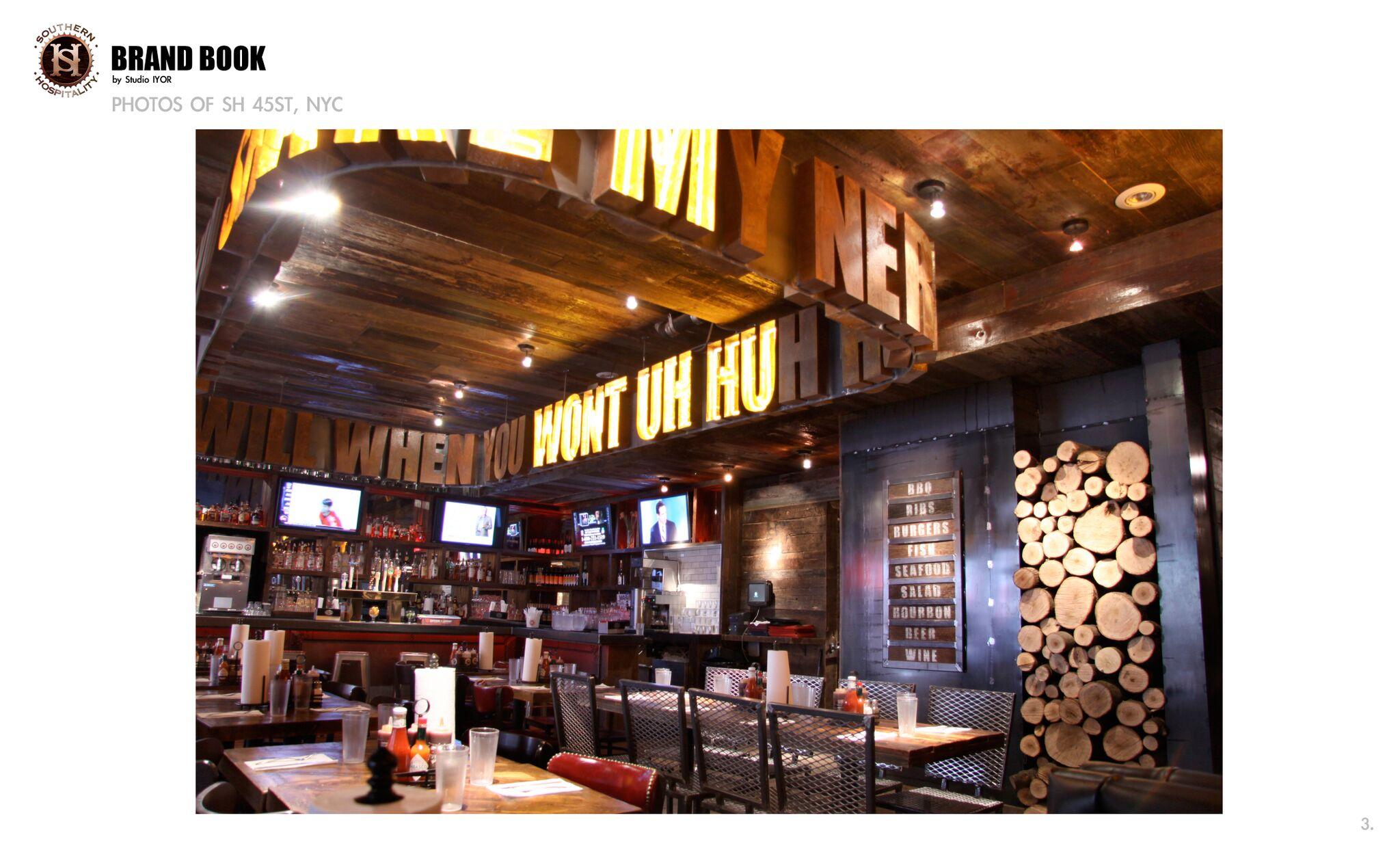 Photo #7 Main Dining Room at Southern Hospitality BBQ (Hell's Kitchen)