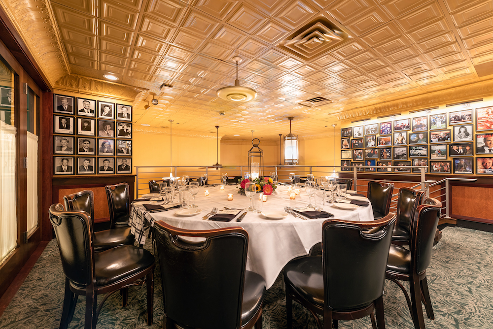 Photo #6 The Semi-Private Mezzanine at Gibsons Steakhouse Rosemont