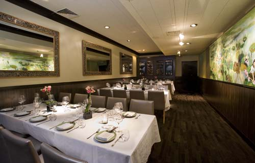 Vung Tau Dining Room event space at Tamarine in SF