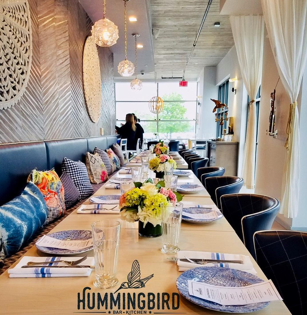 Duke Street event space at Hummingbird Bar and Kitchen in Washington DC, Maryland, Virginia, DC Area