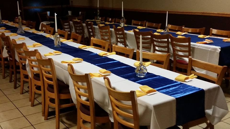 Dining room event space at Kizin Creole Restaurant in Chicago, Chicagoland Area