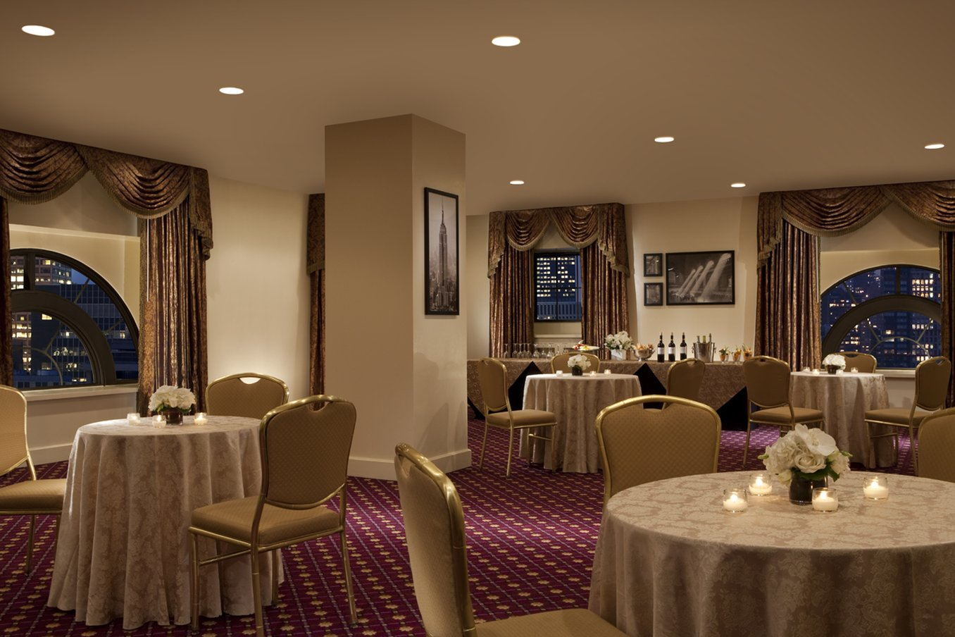 Photo #5 The Hudson Room at The Roosevelt Hotel
