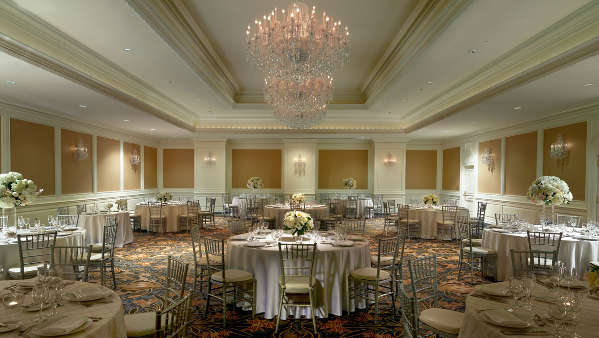 GRAND BALLROOM event space at Omni San Francisco Hotel in San Francisco, SF Bay Area, San Fran