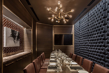The Georgetown Room event space at Ocean Prime - DC in Washington DC, Maryland, Virginia, DC Area