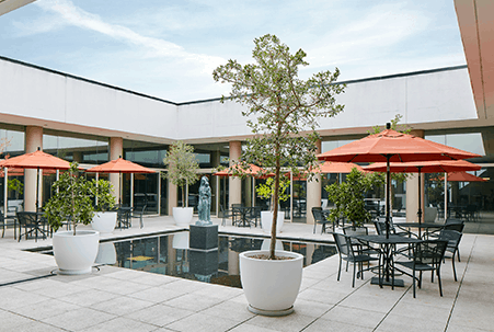 The Courtyard event space at Artesa Winery in New York City, NYC, NY/NJ Area