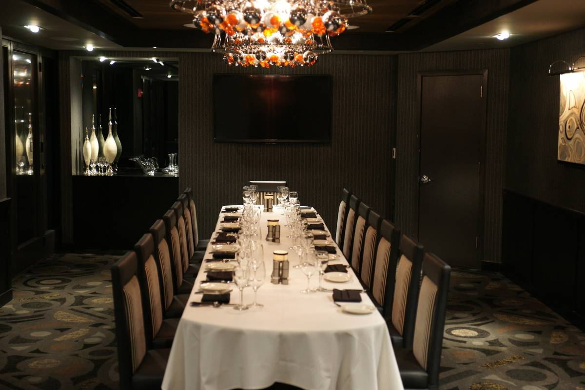 Photo #2 Private Dining Room B at Morton's The Steakhouse - World Trade Center