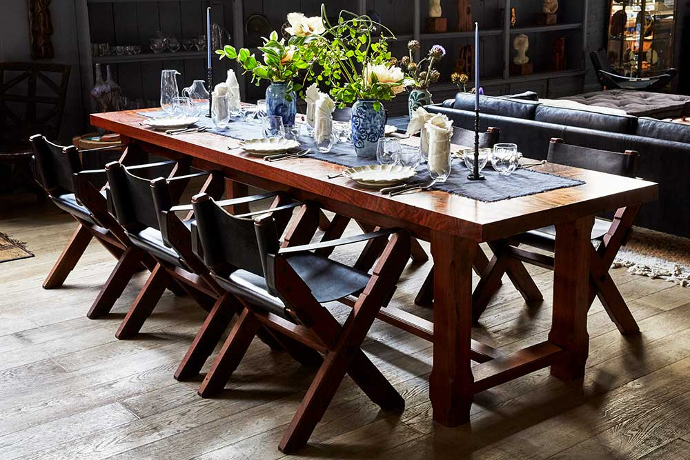 Dinner in the Shop event space at La Mercerie Cafe in New York City, NYC, NY/NJ Area
