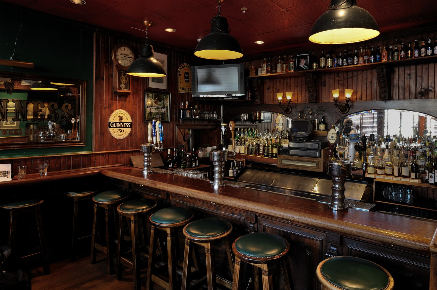 The President's Bar event space at The Dubliner in Washington DC, Maryland, Virginia, DC Area
