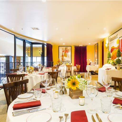 Salle des Amis event space at Left Bank Menlo Park in New York City, NYC, NY/NJ Area
