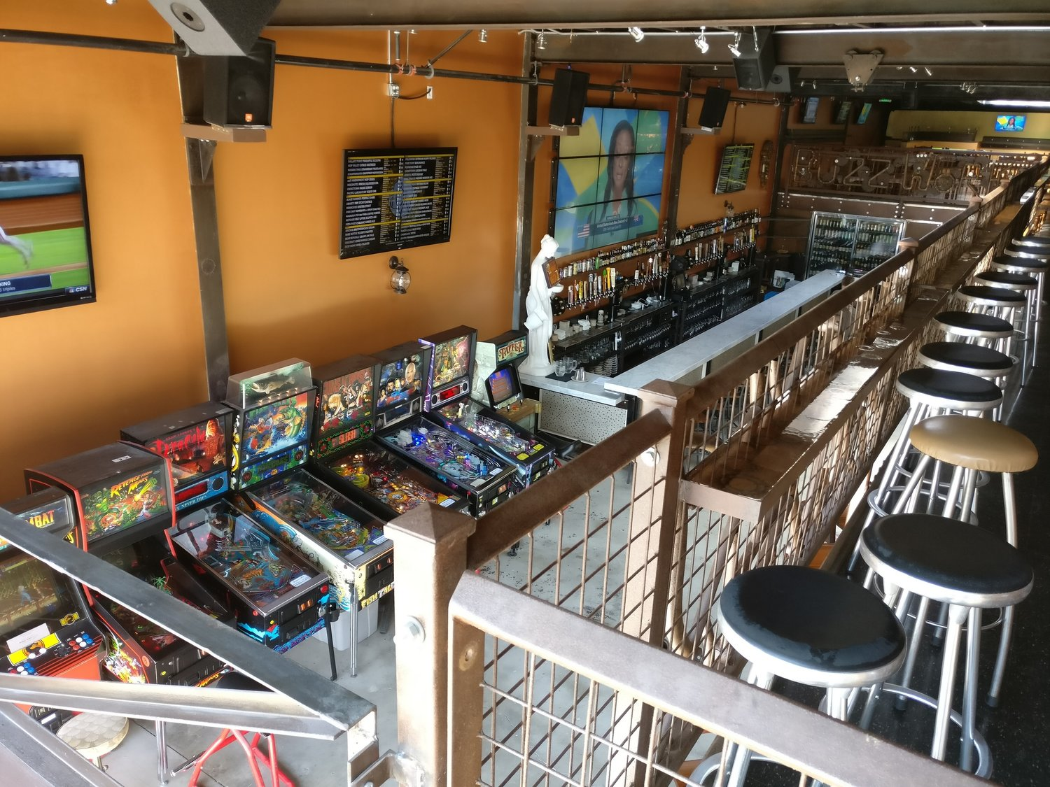 Photo #17 Upper Level at BuzzWorks Craft Beer Sports Tavern