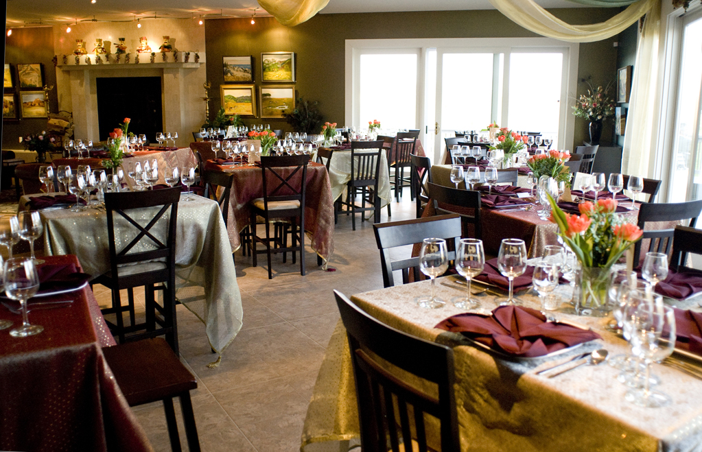 Tasting Room event space at Narmada Winery in Washington DC, Maryland, Virginia, DC Area