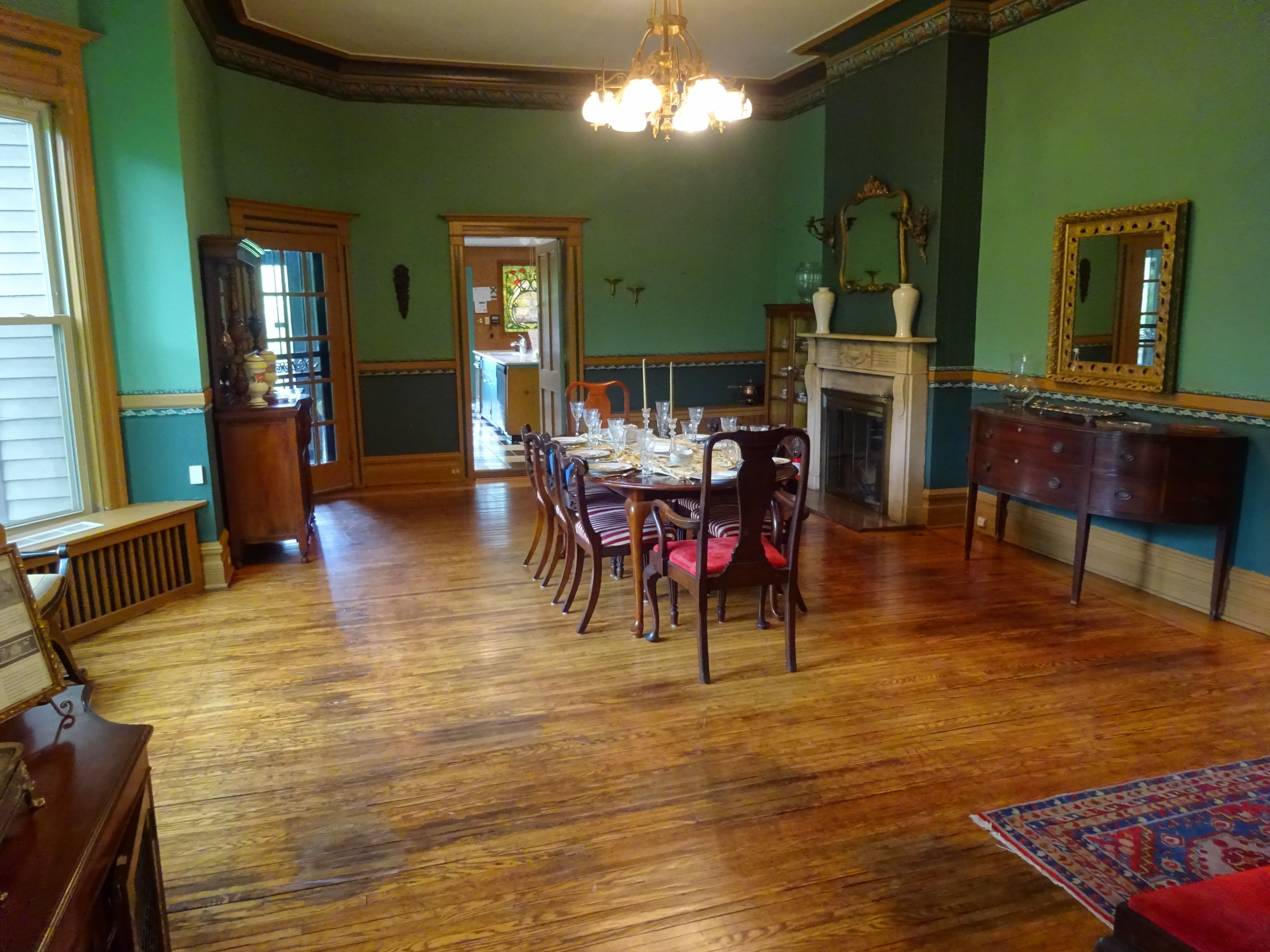 Ingersoll-Blackwelder Mansion event space in Chicago, Chicagoland Area