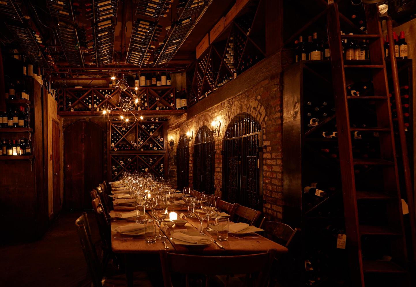 Wine Cellar event space at Alimentari & Vineria in New York City, NYC, NY/NJ Area