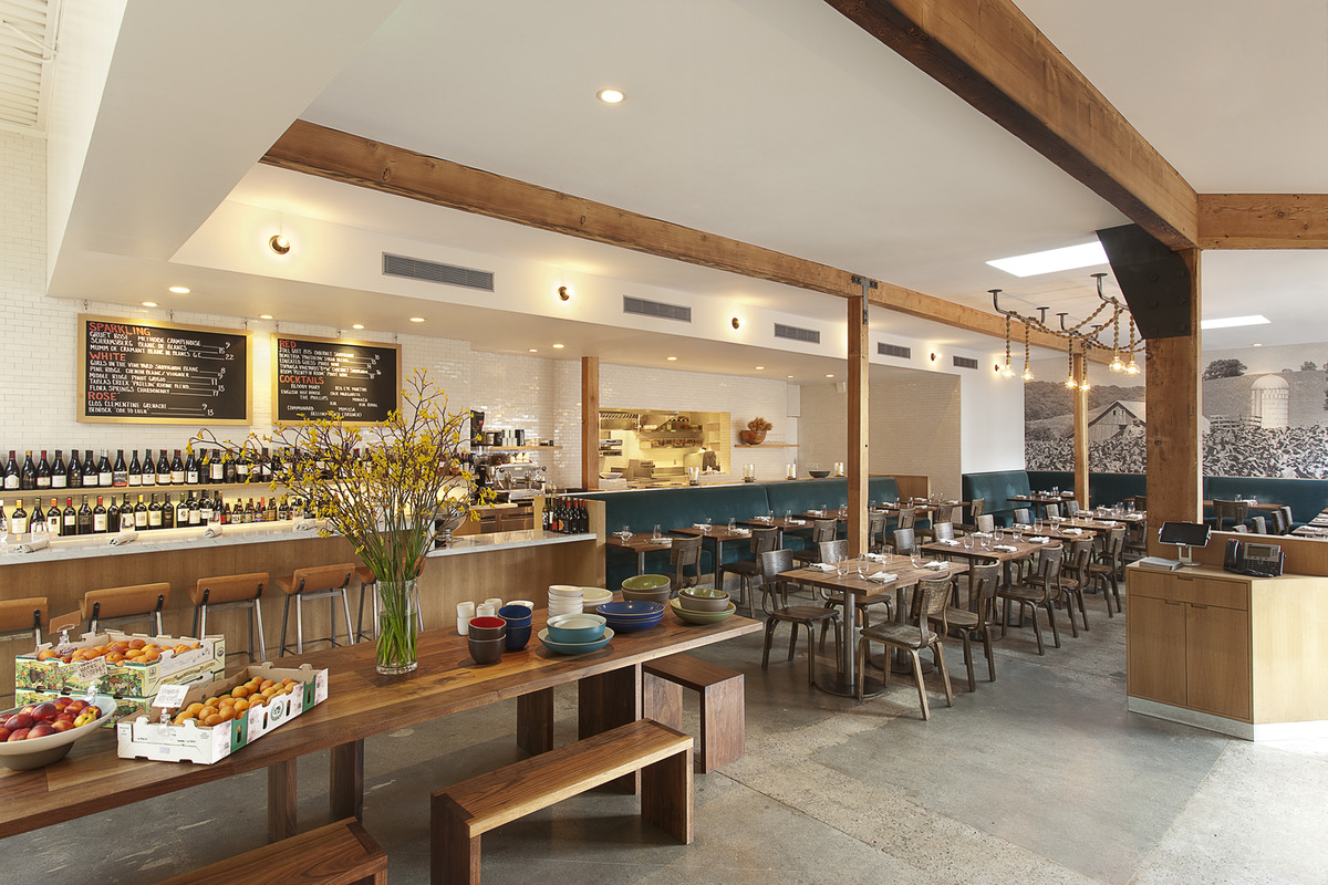Full Venue event space at Farmshop Marin in Bay Area
