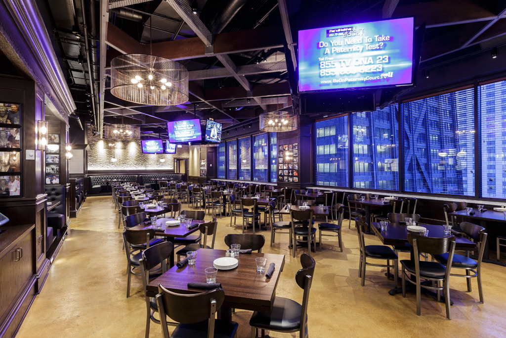 DINING ROOM event space at Harry Caray's 7th Inning Stretch in Chicago, Chicagoland Area