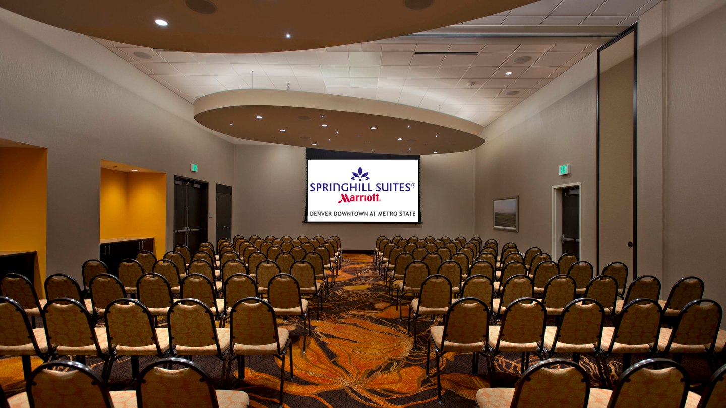 Ballroom event space at Springhill Suites Denver Downtown in denver