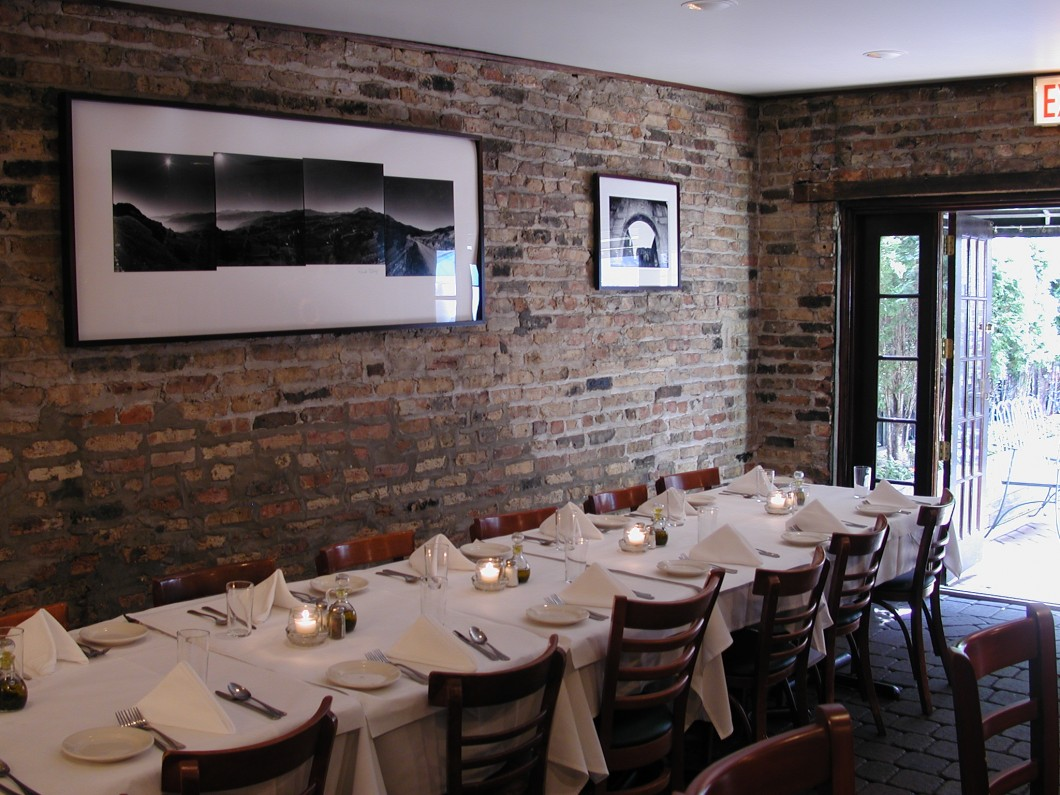 Coach House event space at Mia Francesca in Chicago, Chicagoland Area