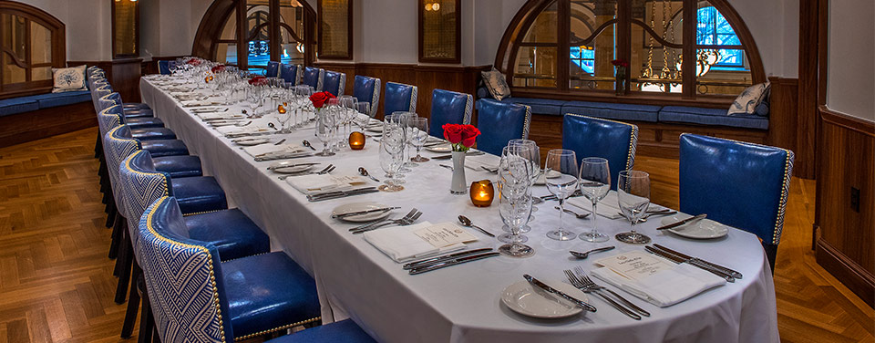 Photo #3 Pershing Private Dining Room at Café du Parc at The Willard InterContinental Hotel