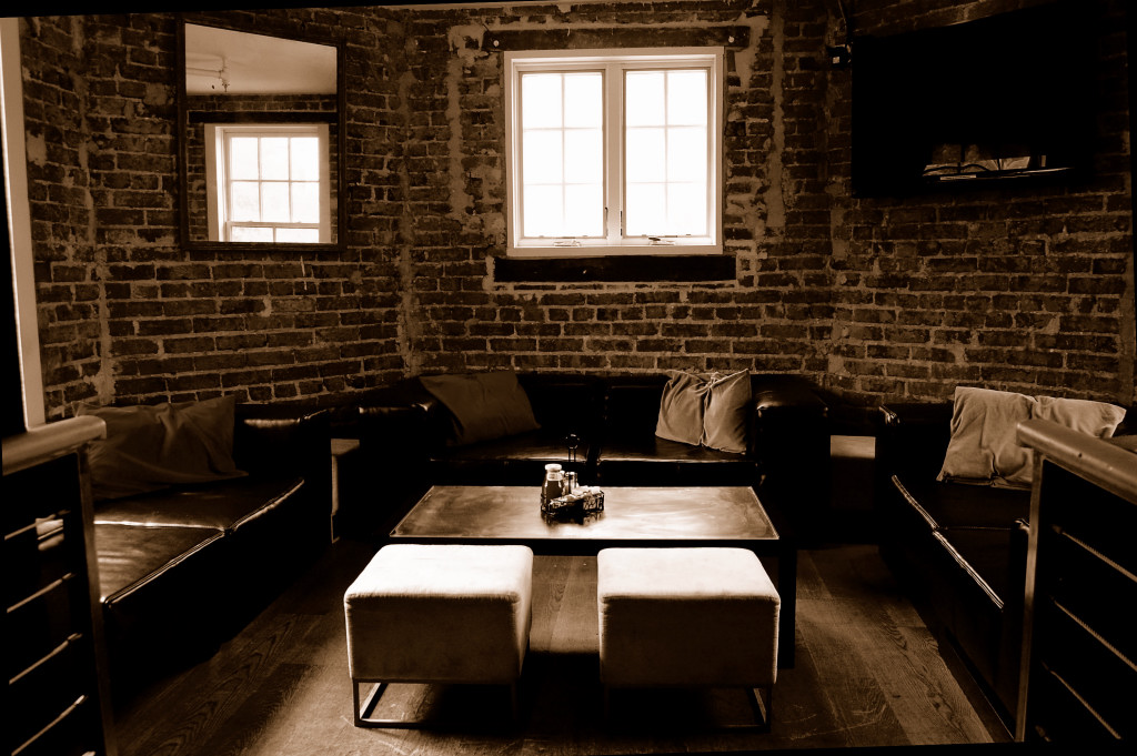 Semi-Private Alcove event space at Tonic Restaurant in Washington DC, Maryland, Virginia, DC Area