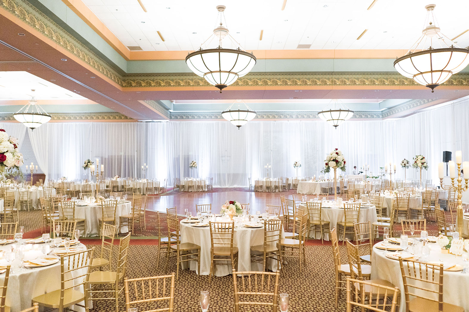 Great Hall event space at Chateau on the Lake in New York City, NYC, NY/NJ Area