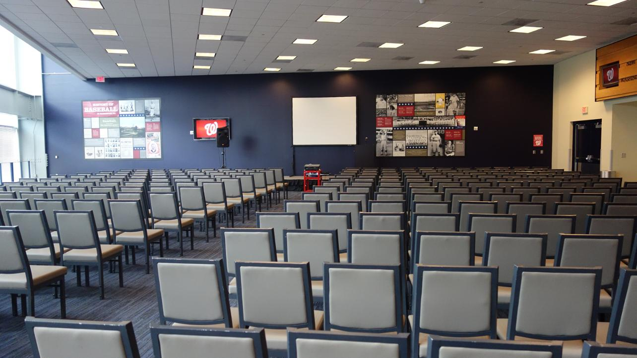 Conference Center event space at Nationals Park in Washington DC, Maryland, Virginia, DC Area