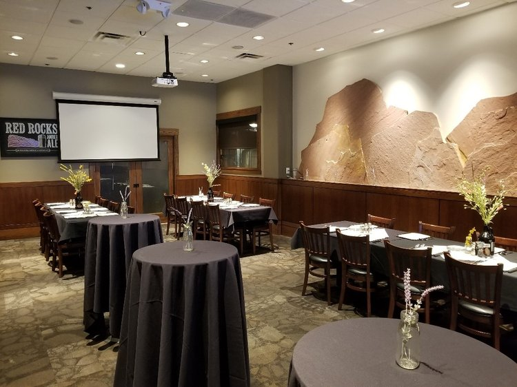 Private Banquet Room event space at Rock Bottom Restaurant & Brewery  in denver