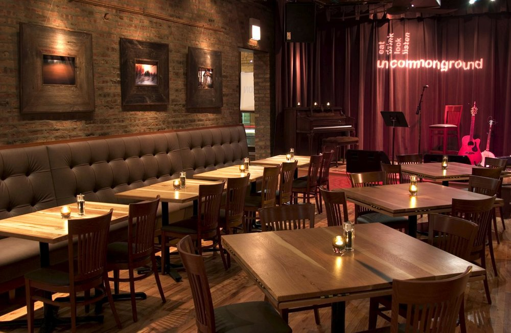 Uncommon Ground event space in Chicago, Chicagoland Area