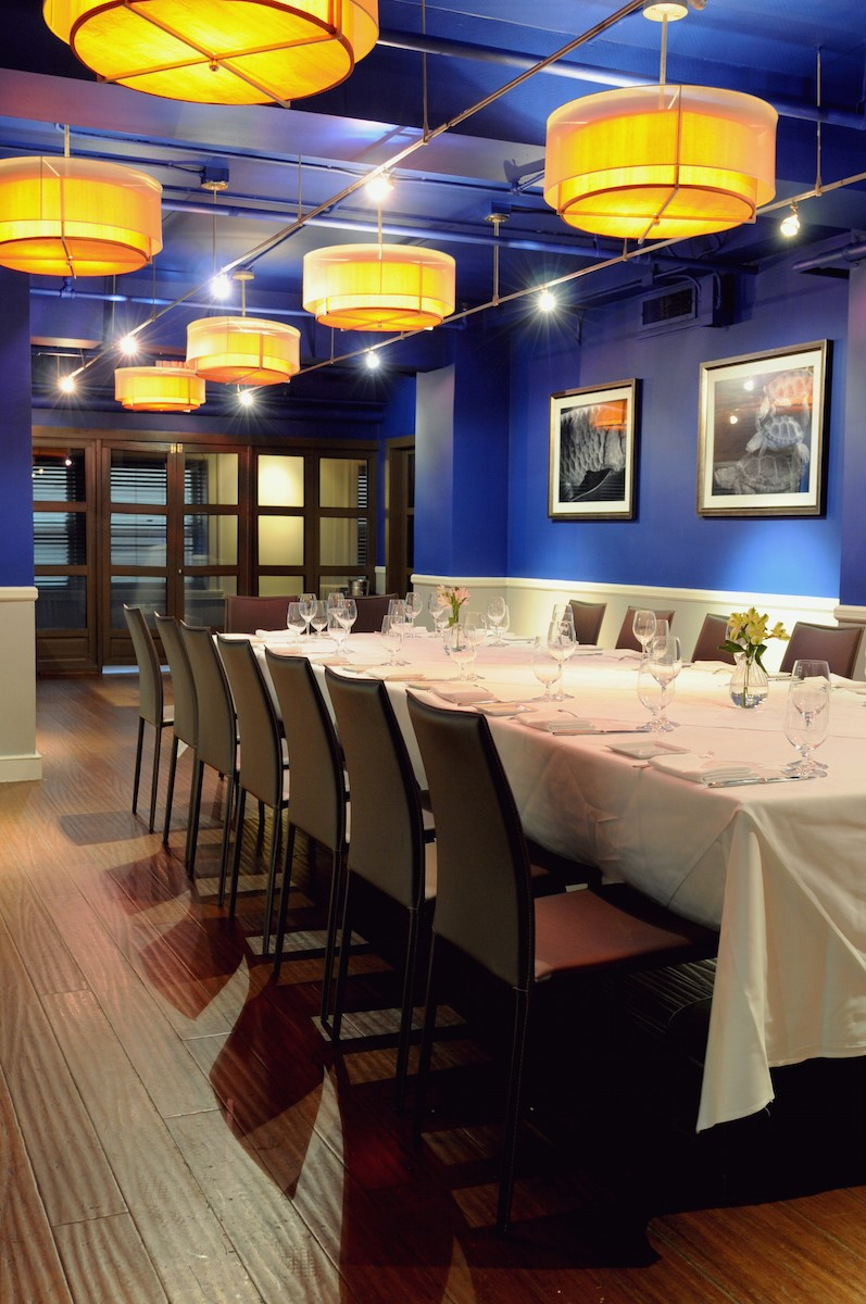 Photo #8 Private Dining Room at Due Mari