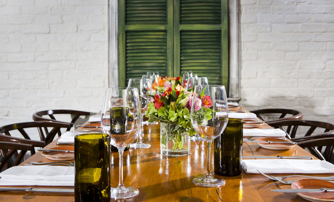 PRIVATE DINING ROOM event space at Firefly DC in Washington DC, Maryland, Virginia, DC Area